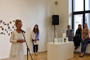The speech of an artist Hanne Matthiesen from Denmark