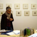 Opening of the artist's book exhibition in Basel