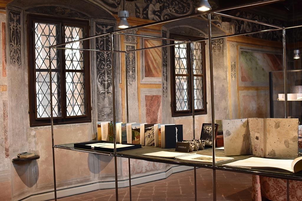 8th Artist's Book Triennial in Vercelli in Museo Leone 2019