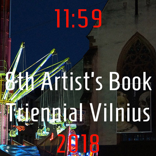 8th International Artist's Book Triennial Vilnius 2018