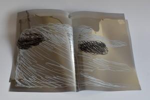 "Catherine Bolle. Switzerland. Artist's book ""Lamb's Heart"". 2017"