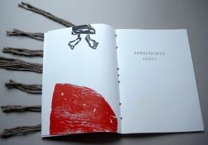 "Artist's book. Kestutis Vasiliunas ""Apocalypse No2-1"". 2000"