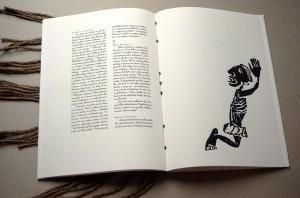 "Artist's book. Kestutis Vasiliunas ""Apocalypse No2-2"". 2000"